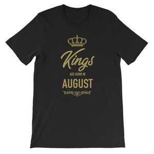 Kings Are Born In August Funny Birthday