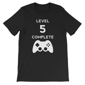 Level 5 Complete Video Gamer Birthday Gift