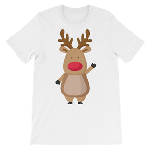 Rudolph the red nosed reindeer Christmas Unisex short sleeve t-shirt