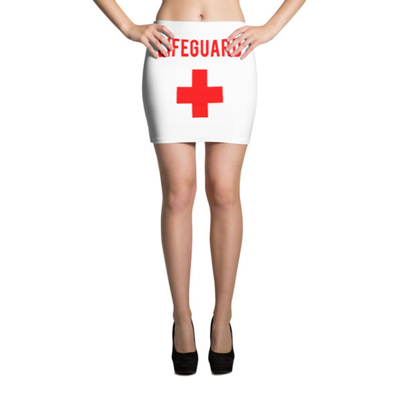 Lifeguard Mini Skirt