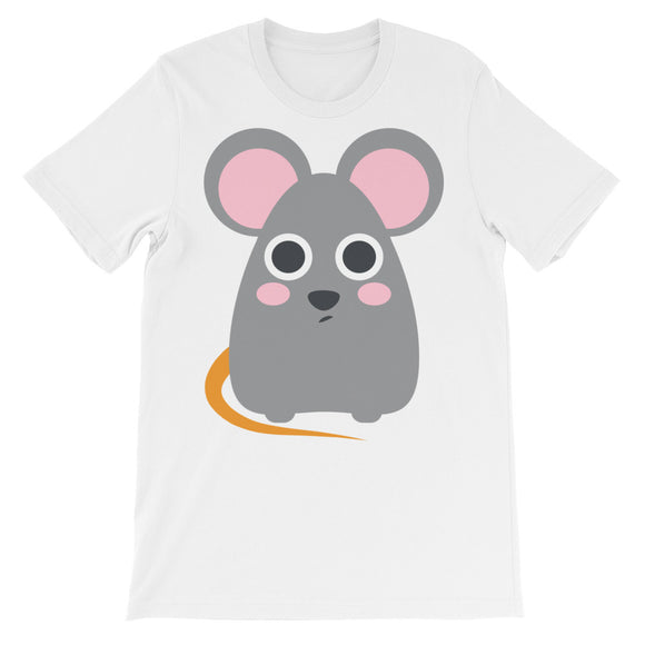 Rat Face Unisex short sleeve t-shirt