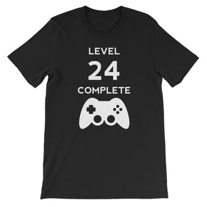 Level 24 Complete Video Gamer Birthday Gift
