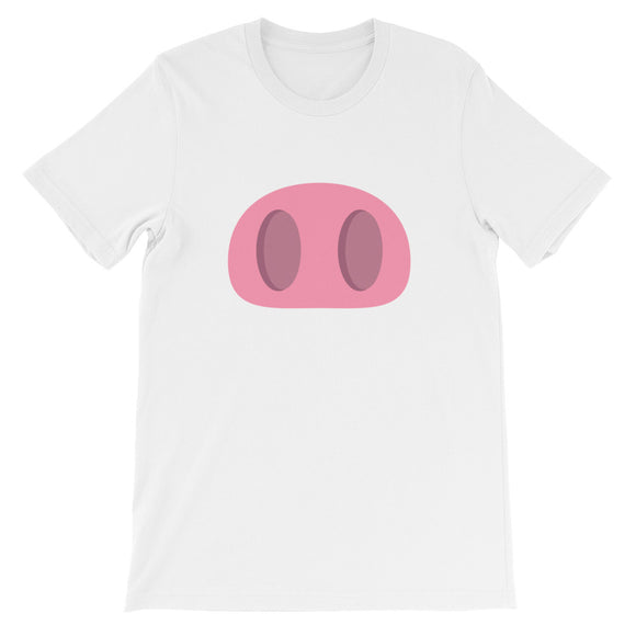 Pig Nose Unisex short sleeve t-shirt