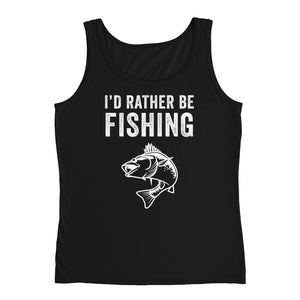 I'd Rather Be Fishing Funny Fish