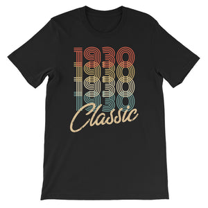 Retro Classic Vintage Born In 1930 Birthday Gift