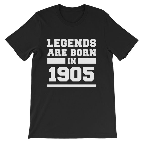 Legends Are Born In 1905 Birthday Gift