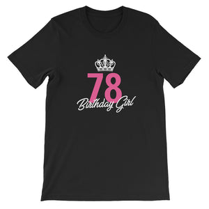 Funny 78 Birthday Girl Queen