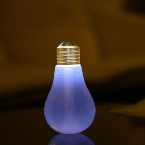 USB Humidifier Ultrasonic 7 Color Changing LED Lamps 400ml Mini Humidifiers Desktop Night Lights