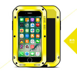 Water Resistant Aluminum Shockproof Metal Case Cover for Apple iPhone 4-7