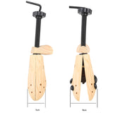 1 PC Wood Wooden 2-Way Shoe Shoes Tree women and man shoes tree Stretchers Size S/M/L Dropshipping Wholesale