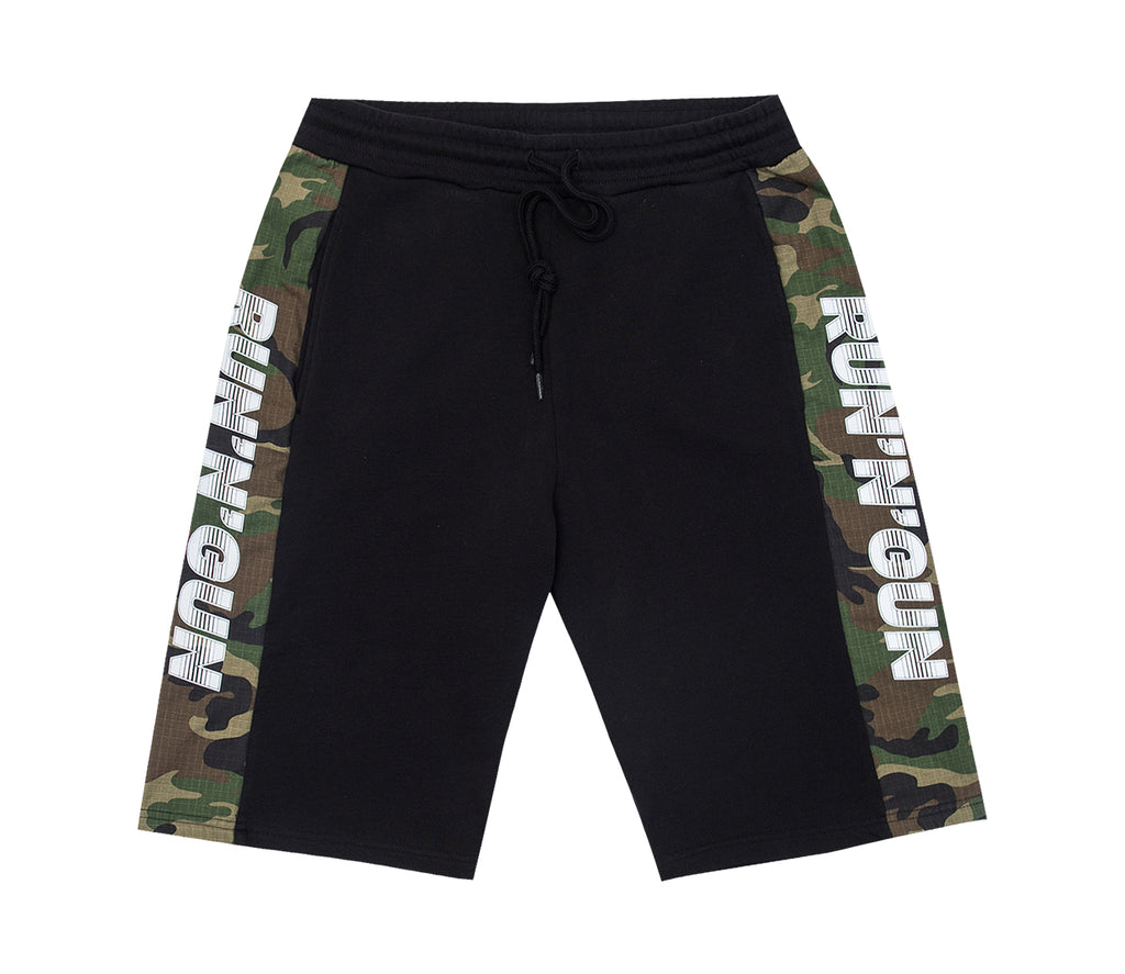Camouflage Ripstop Short Pants