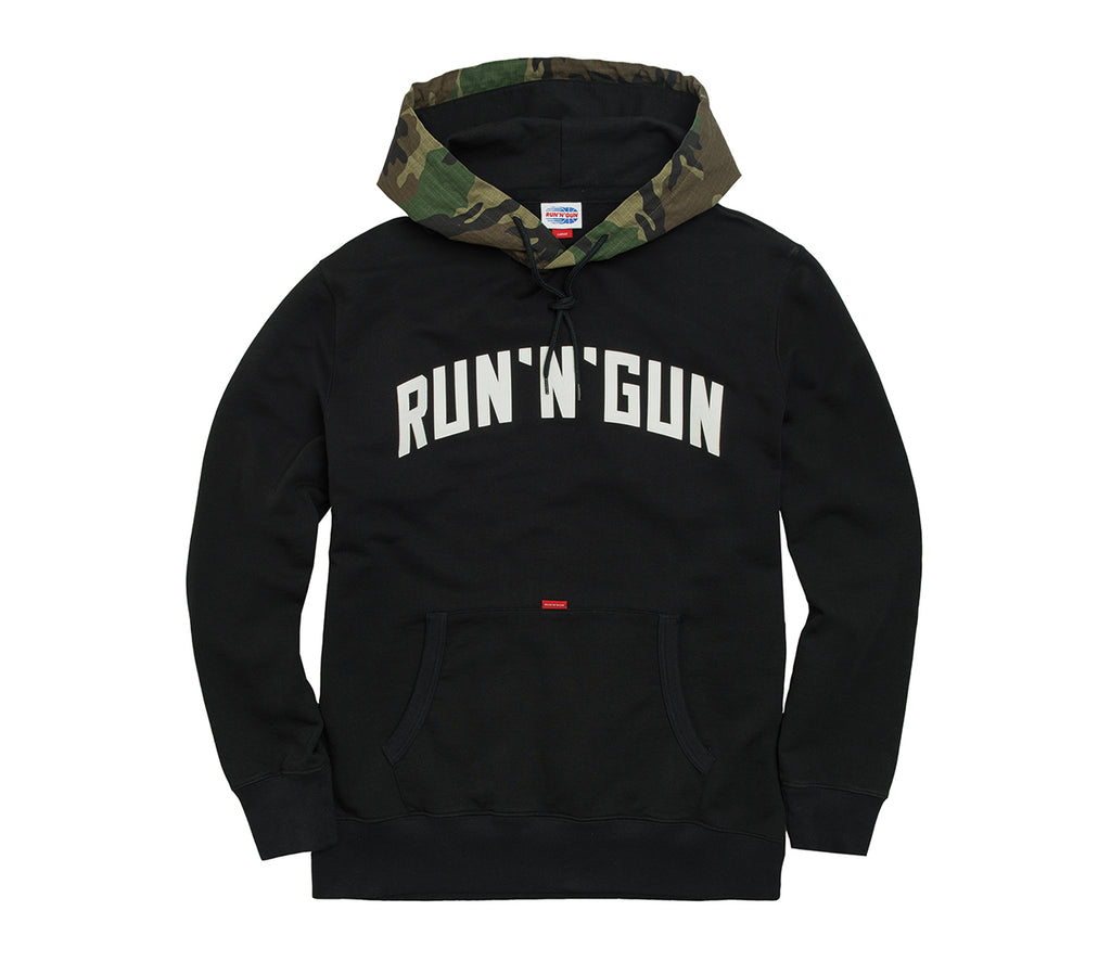 Camouflage Ripstop Hoodie