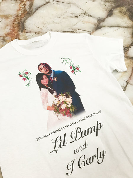 Lil Pump And ICarly Wedding T Shirt