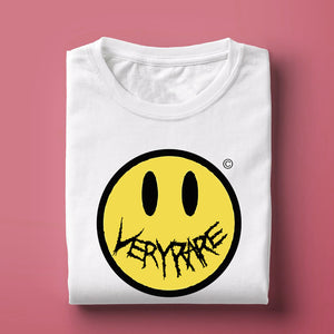 Very Rare Smiley White T Shirt
