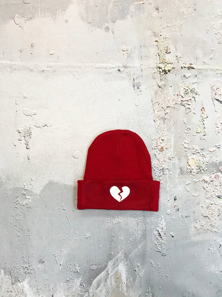 Heartbreak Red Beanie
