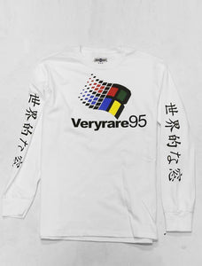 Very Rare 95 White Long Sleeve