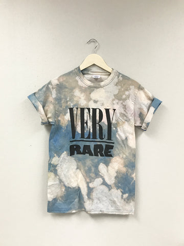 Very Rare Blue Bleached T Shirt