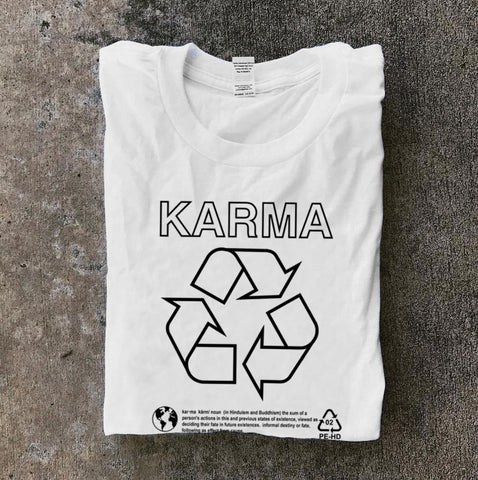 Karma White Long Sleeve