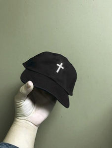 3M Reflective Cross Black Strapback Hat