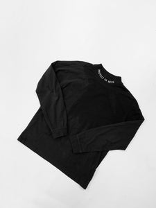 Protect Ya Neck Black Long Sleeve