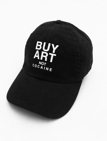 Buy Art Black Strapback Cap