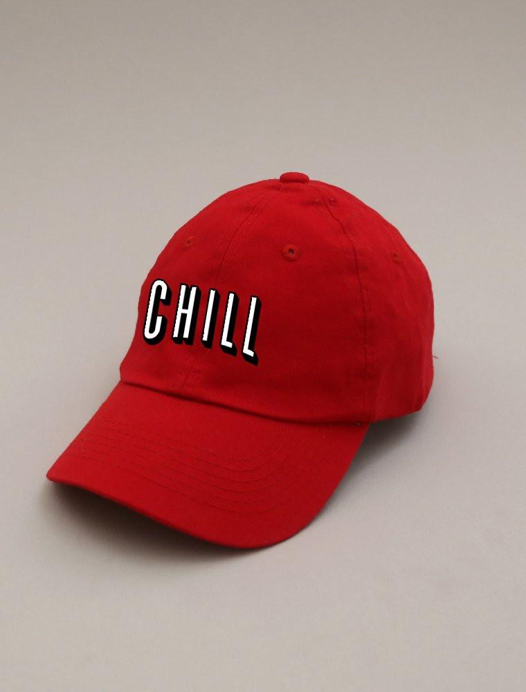 Chill Red Strapback Cap