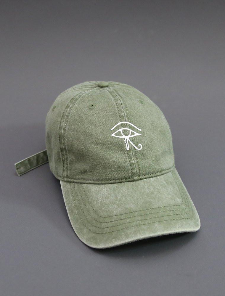 Eye Olive Green Strapback Cap