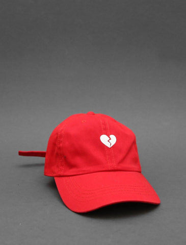 Heartbreak Red Strapback Cap