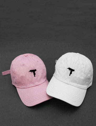 UZI Pink Or White Gun Hats