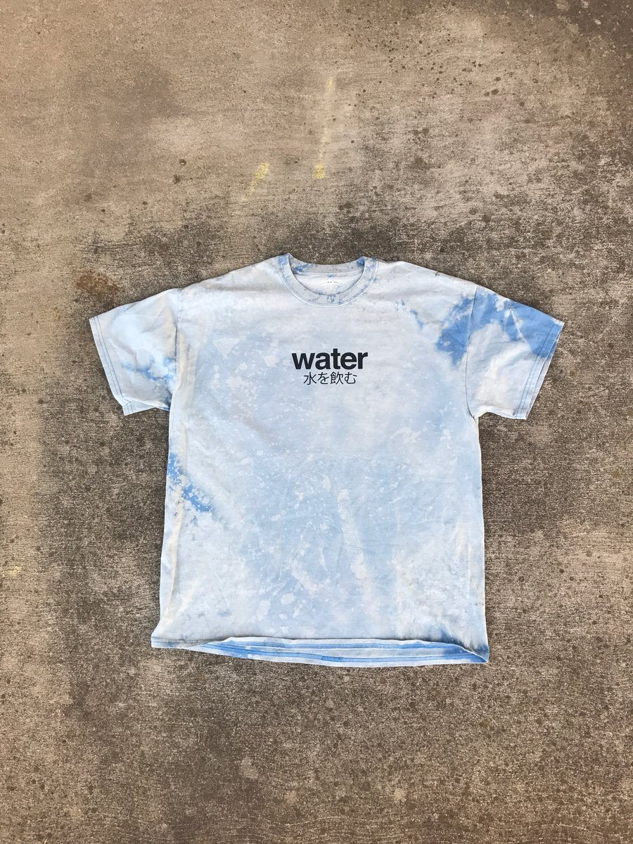 Water Bleached Tee Shirt