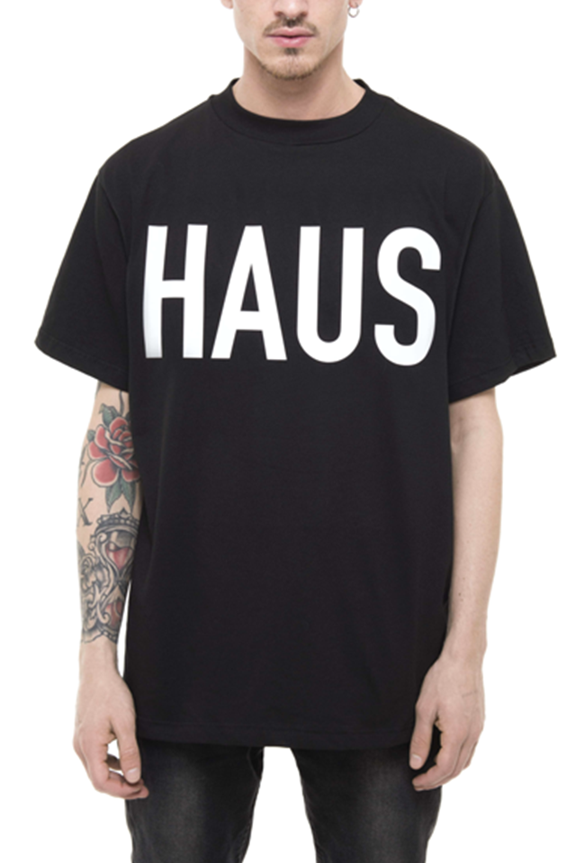 PRAY FOR US™ - HAUS T-Shirt Black
