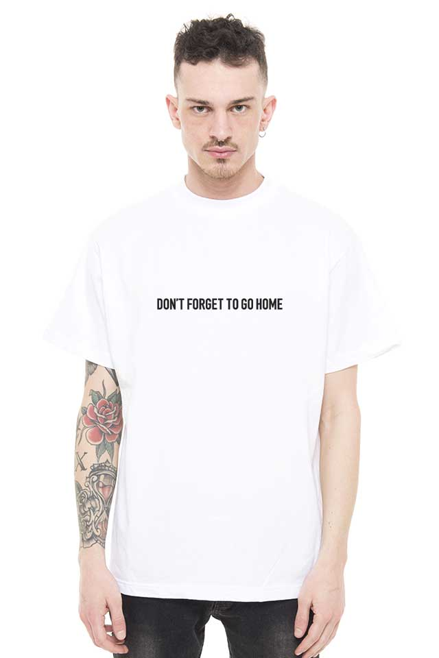 PRAY FOR US ™ - FORGET ss19 white T-Shirt