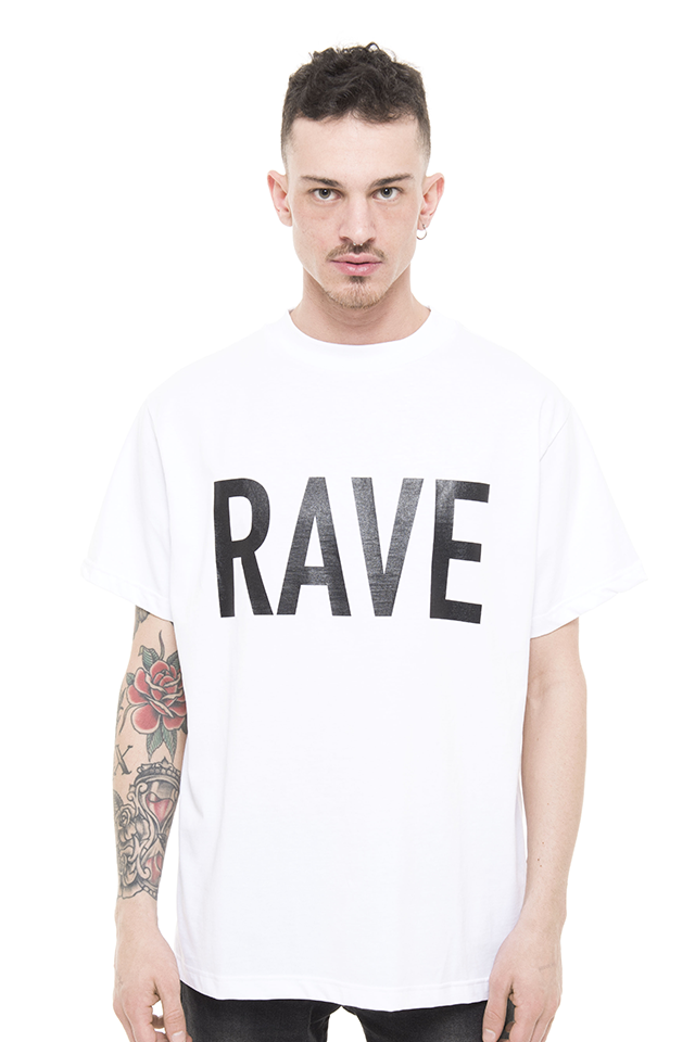 PRAY FOR US ™ - RAVE white T-Shirt