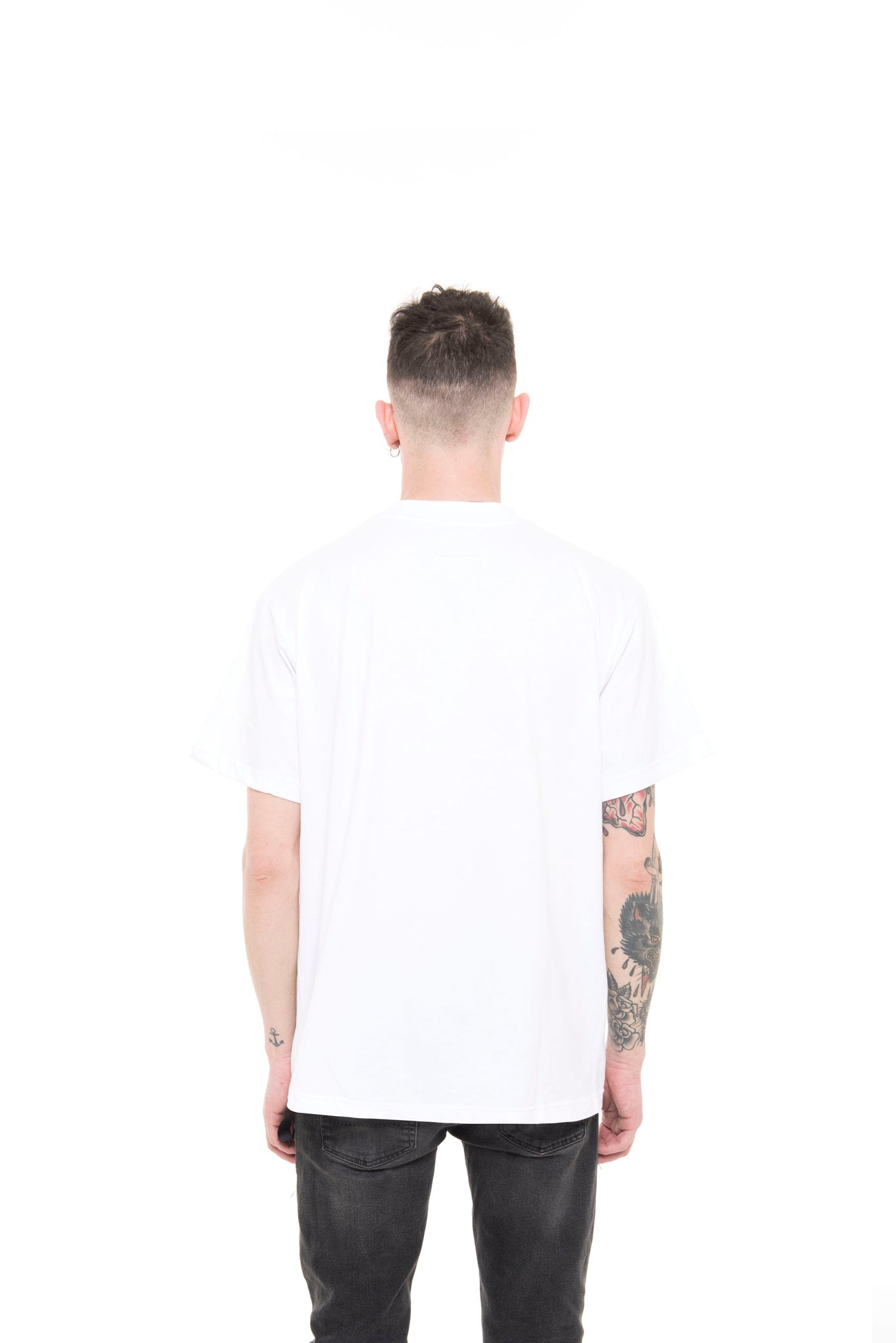 PRAY FOR US ™ - GO HOME ss19 white T-Shirt