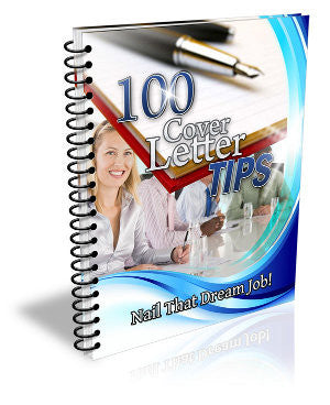 100 Cover Letter - ShopFor5