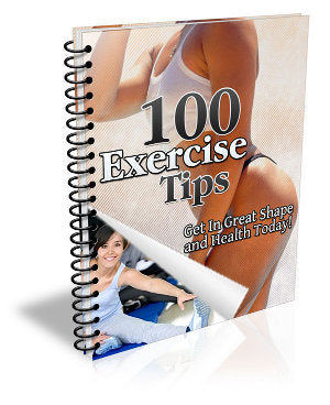 100 exercices tips - ShopFor5