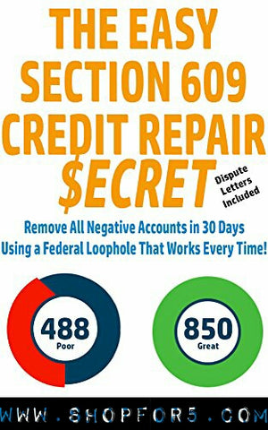 30 Days credit repair - ShopFor5