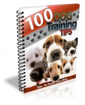 100 Dog Training Tips - ShopFor5