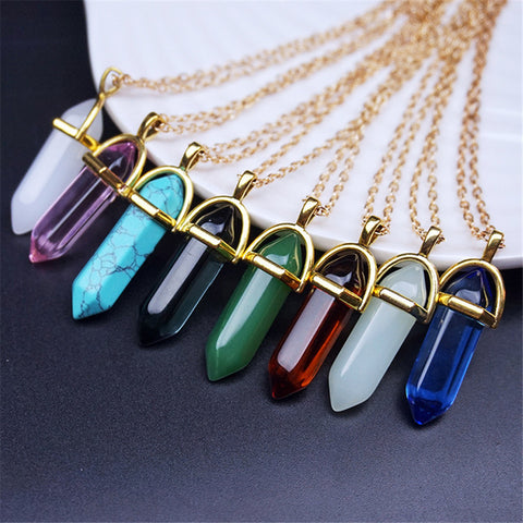 Natural Stone Necklaces - ShopFor5