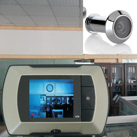 "2.4"" LCD Visual Monitor Door Peephole Peep Hole Wireless Viewer Camera Video - ShopFor5"
