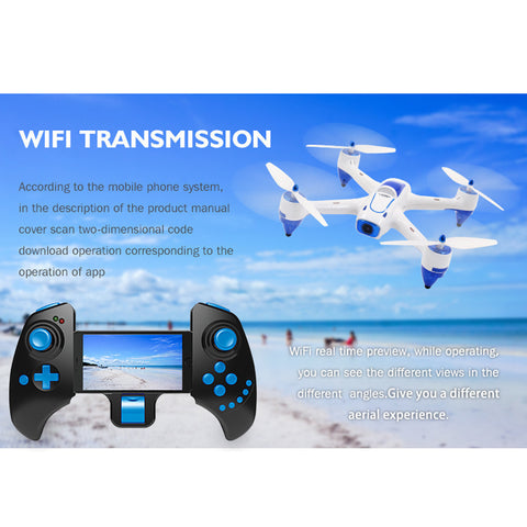 XBM-55w 2.4G 4CH 6-Axis Gyro HD WiFi Real Time Transport Aircraft/Stretch Remot RC helicopter - ShopFor5