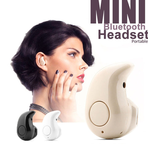 Portable Pocket Mini Bluetooth Headset 5 Colors