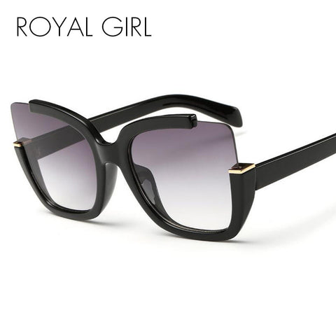 ROYAL GIRL Fashion Vintage Cat Eyes Sunglasses Women Brand Designer Retro Sun Glasses UV400 ss274 - ShopFor5