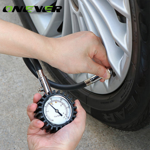 Onever Tire Pressure Gauge Tyre Air Gauges Table Tester Meter with Deflate 0-60 PSI 0-4 Bar for Truck Auto Vehicle Car - ShopFor5