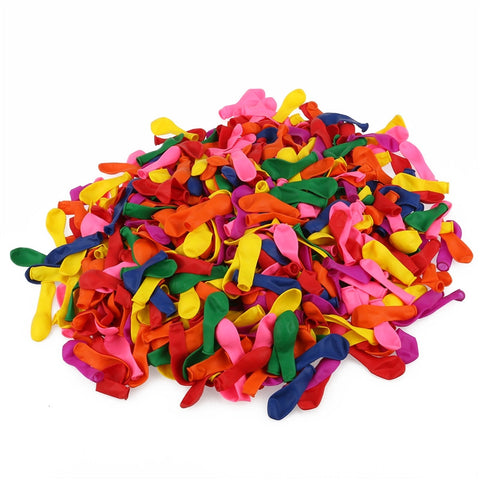 500pcs Assorted Bright Color Latex Water Balloons - ShopFor5
