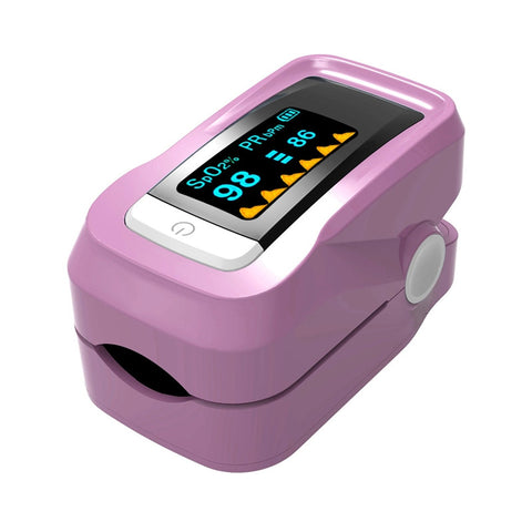 Fingertip Pulse Oximeter Oximetry Blood Oxygen Saturation Monitor with Carrying Bag - ShopFor5