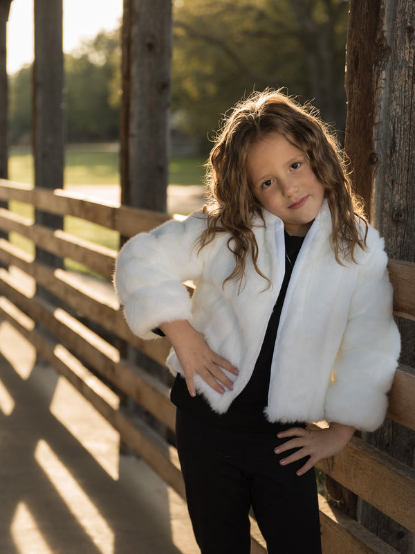 Little Greta Mink jacket