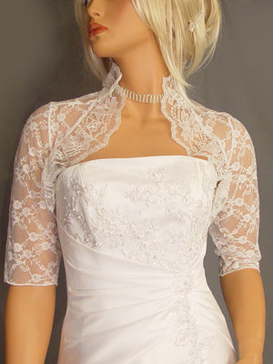 Lucille in Lace with 3/4 sleeves