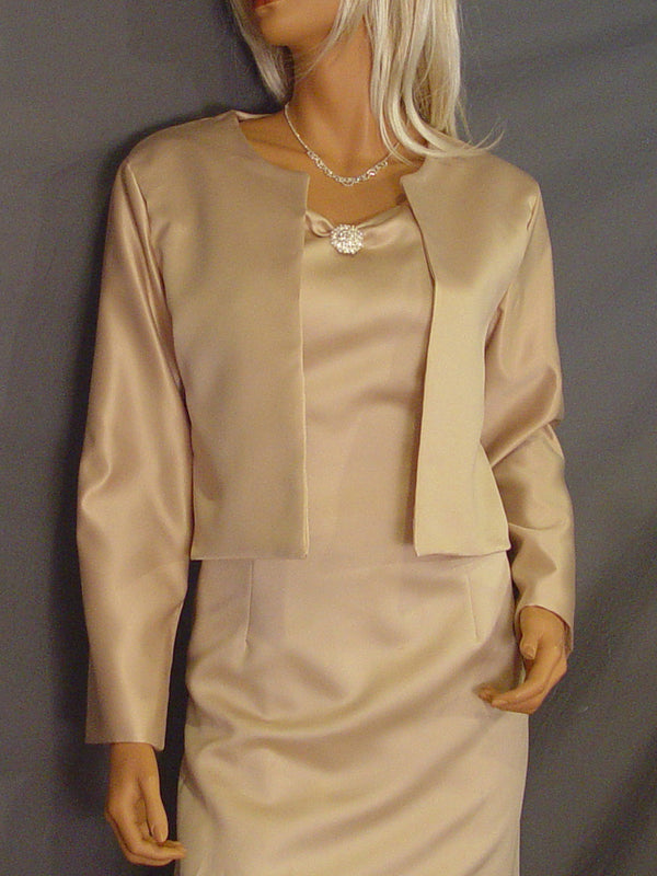 Lauren long sleeve Satin jacket