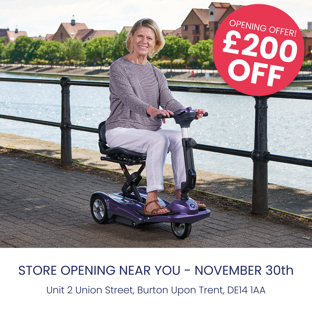 Discovery mobility scooter store opening sale